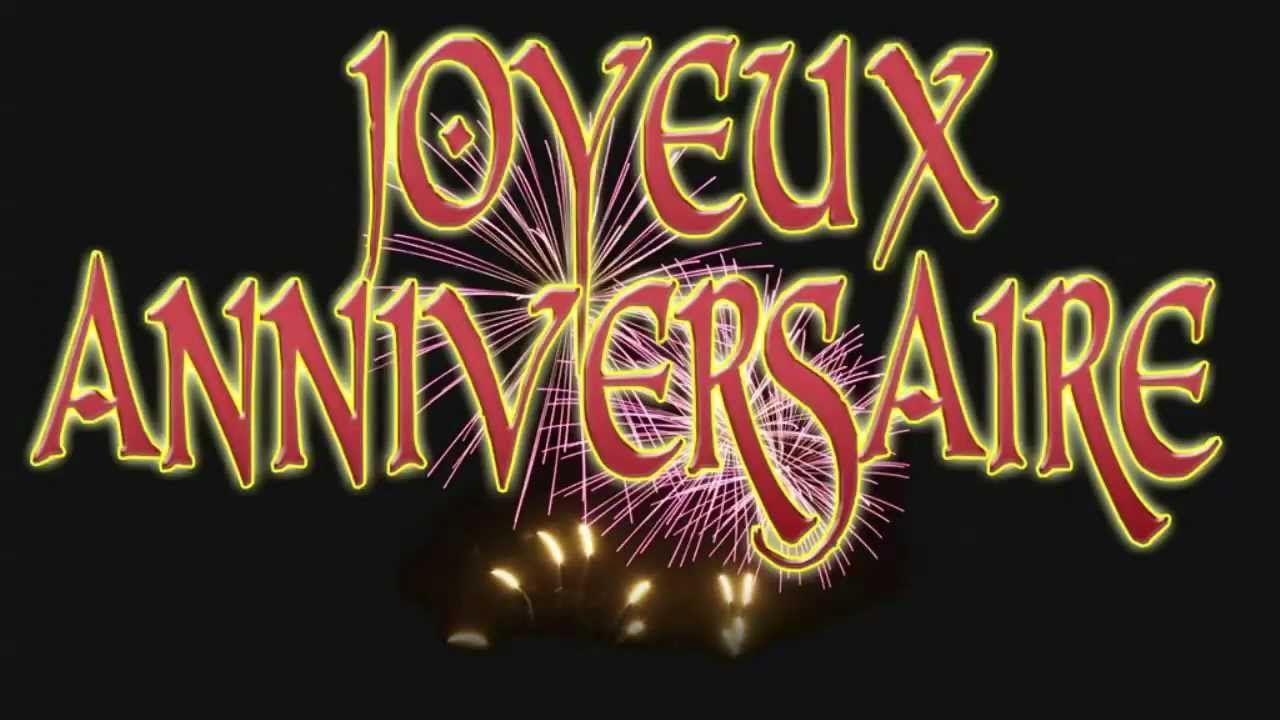 Joyeux Anniversaire En Francais Bon Anniversaire Chanson à Bon Anniversaire Humour Video