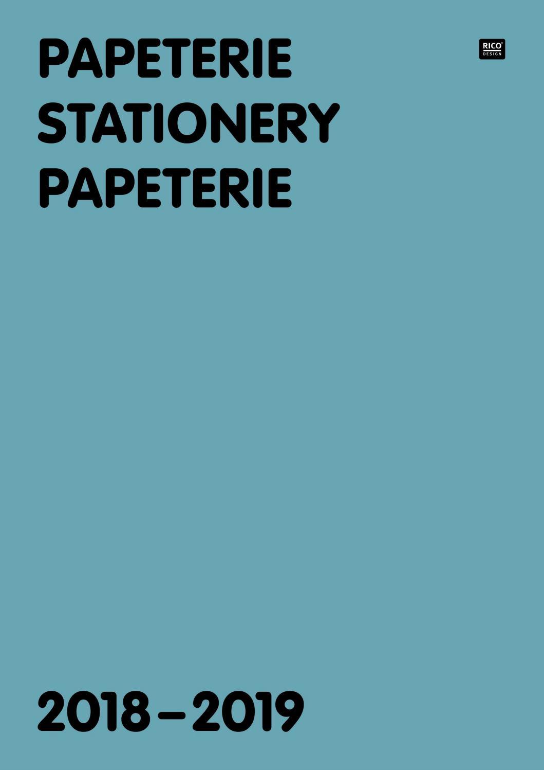 Katalog Rico Papeterie 2018-2019 By René Müller - Issuu intérieur Origami Bonhomme De Neige