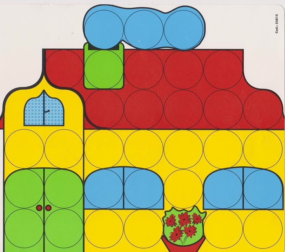 Kleur En Vorm: Colorino 12 | Activite Enfant, Activité à Colorino A Imprimer