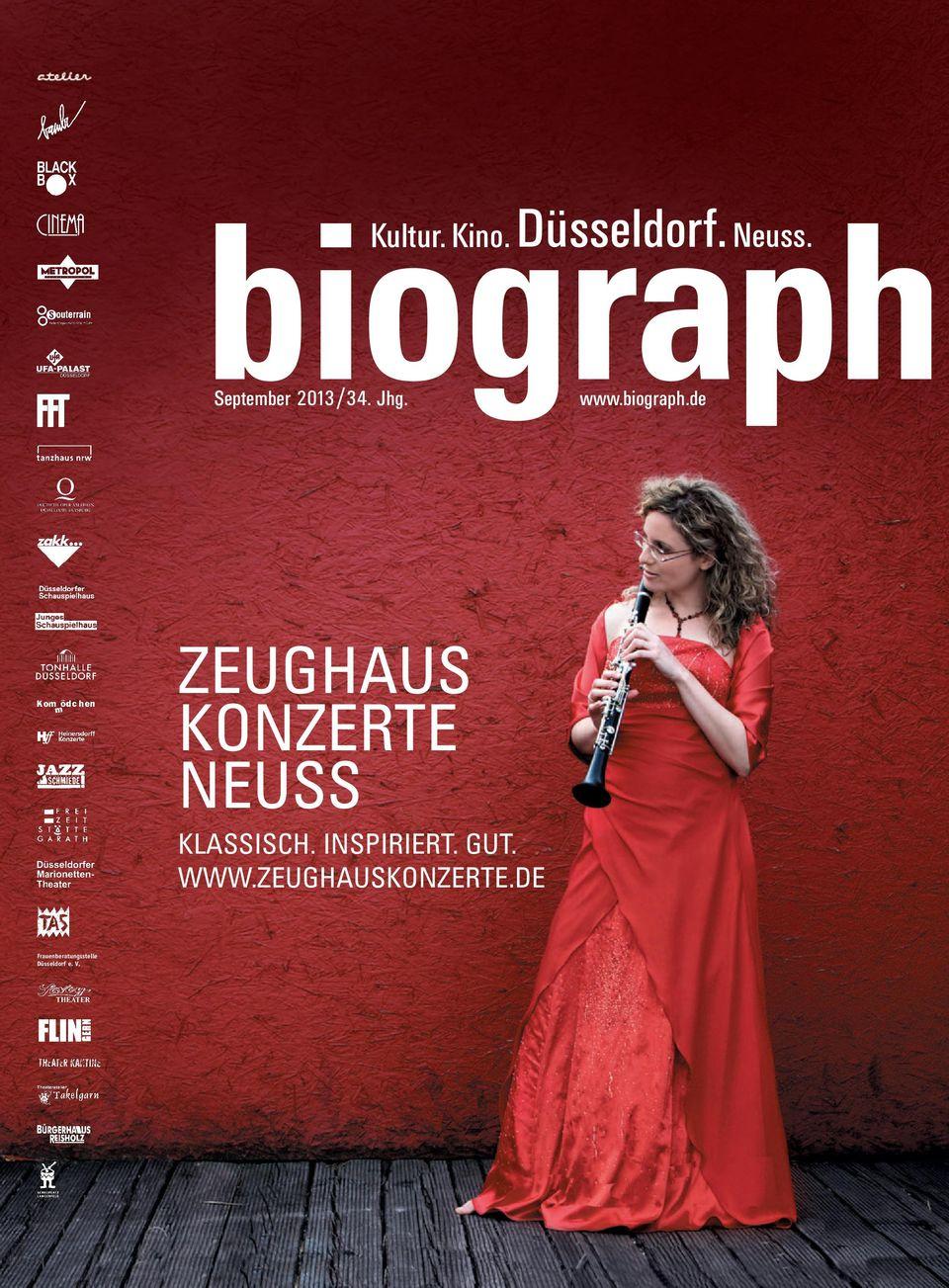 Kultur. Kino. Düsseldorf. Neuss. Zeughaus Konzerte Neuss pour Album Printemps Gs