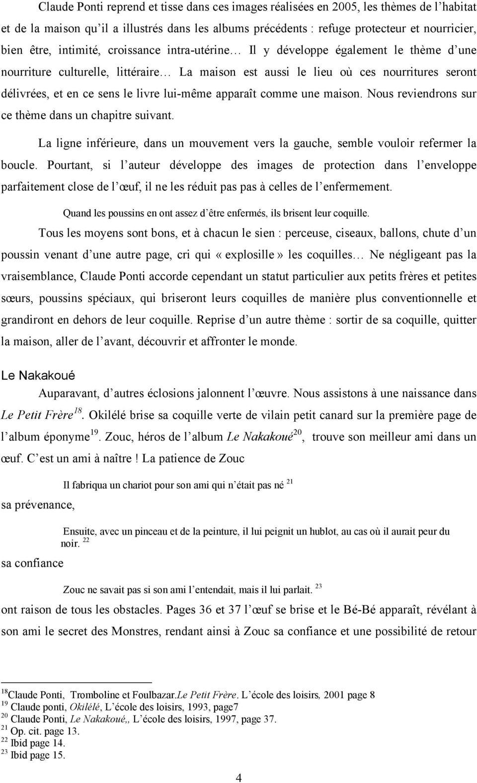 L Image De La Maison Dans L Œuvre De Claude Ponti - Pdf Free destiné La Tempête Claude Ponti
