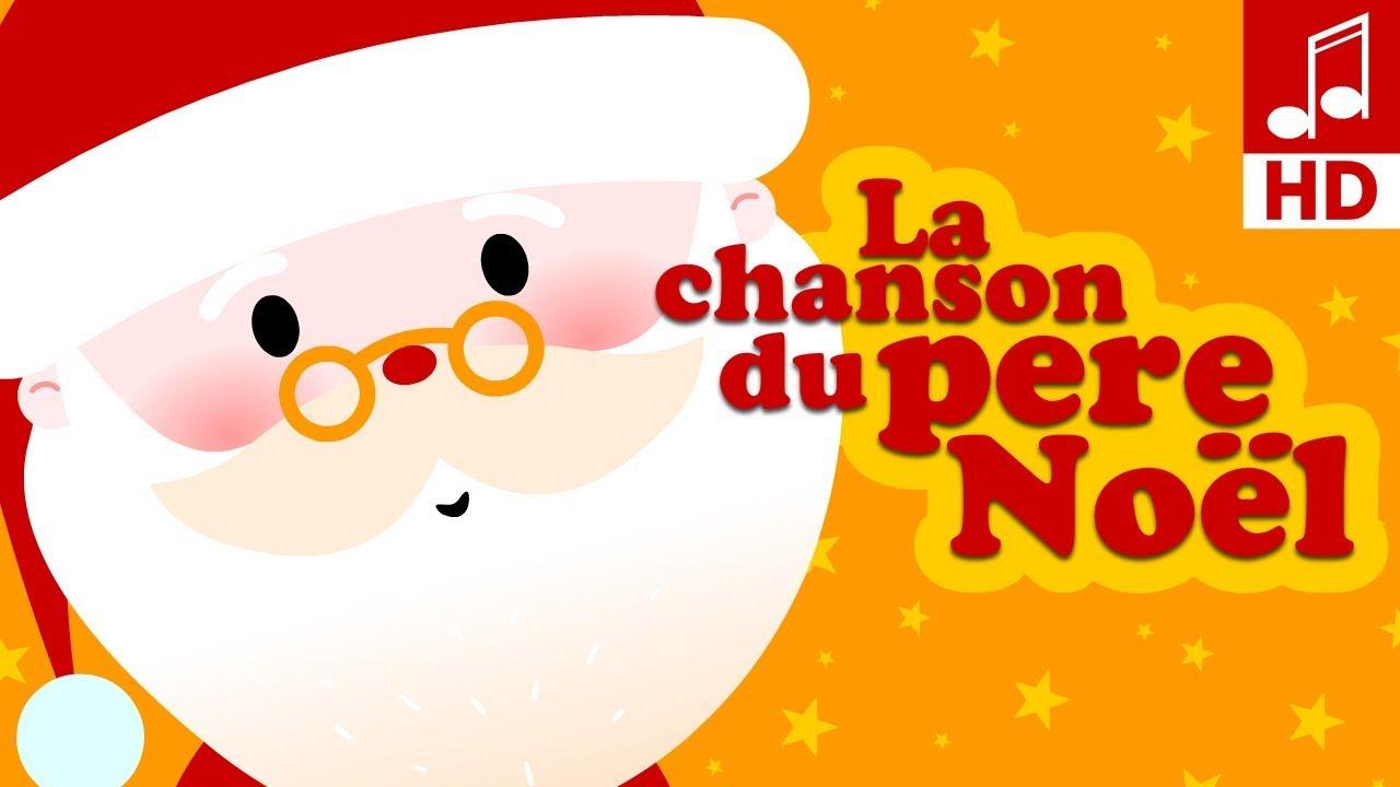 La Chanson Du Père Noël Comptine Pour Bébé & Maternelle intérieur Chanson Dans Son Manteau Rouge Et Blanc