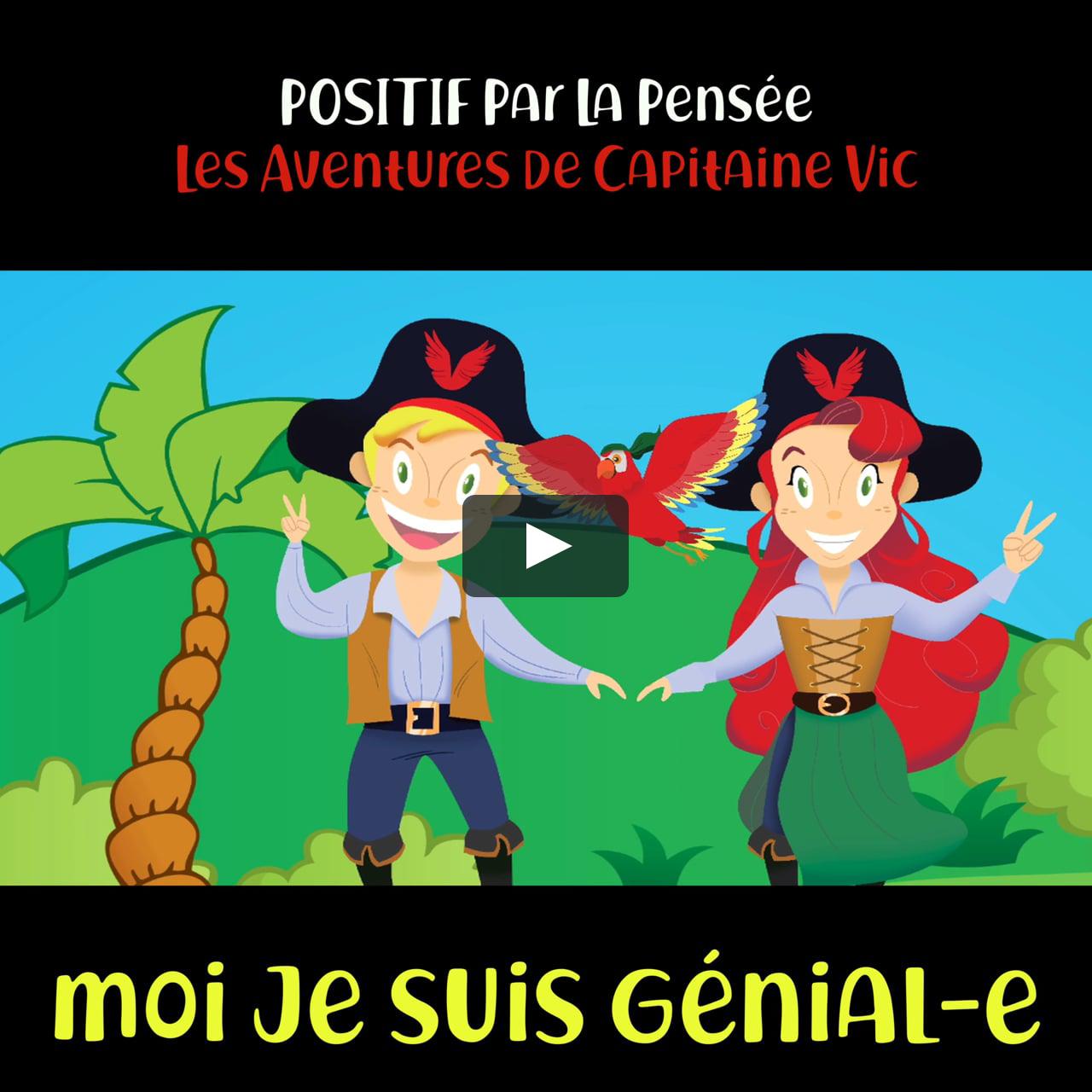 La Chanson Géniale De Capitaine Vic On Vimeo serapportantà Chanson Pense À Moi