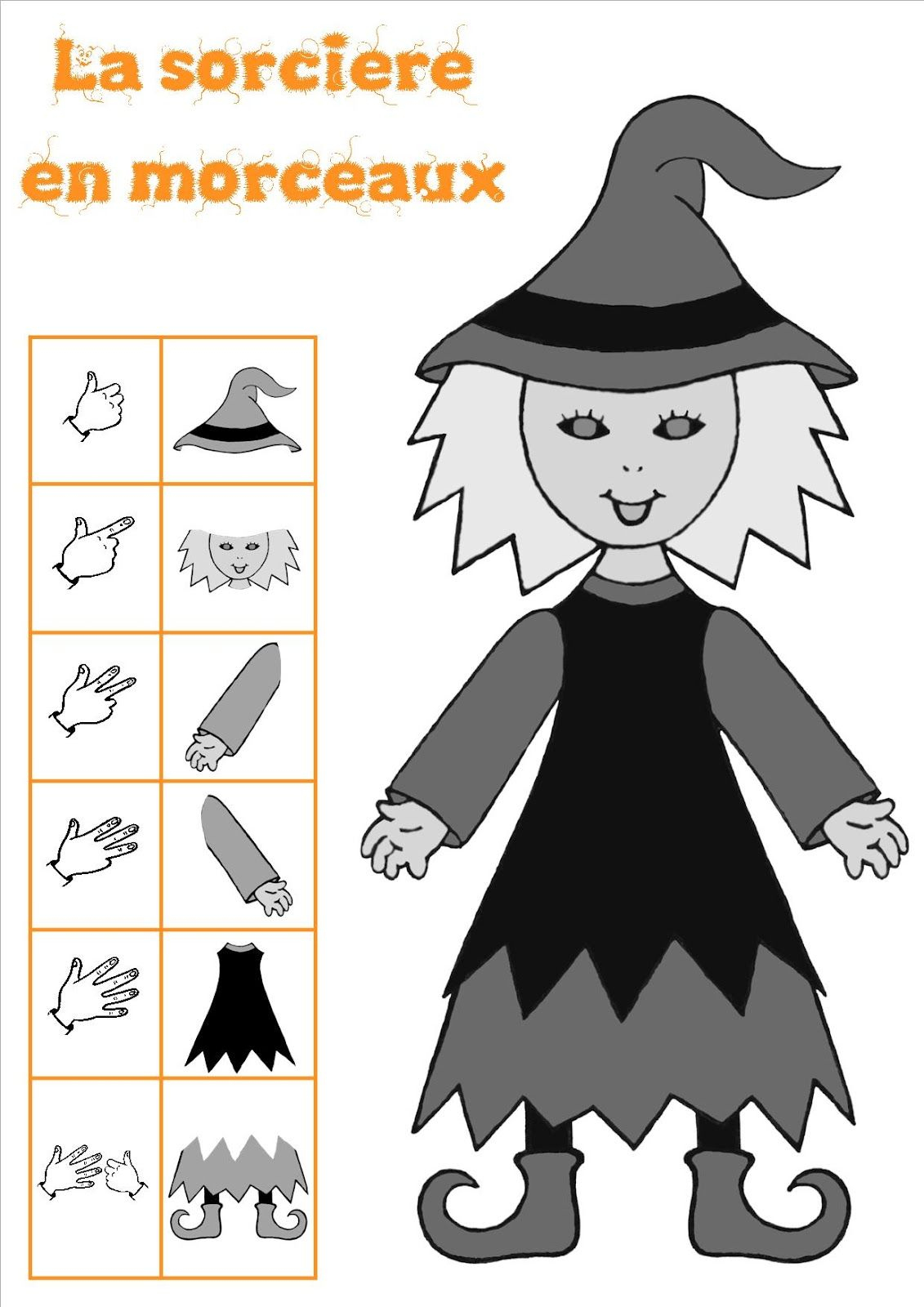 La Classe De Laurène: Halloween | Halloween, Halloween En encequiconcerne La Sorciere Tambouille