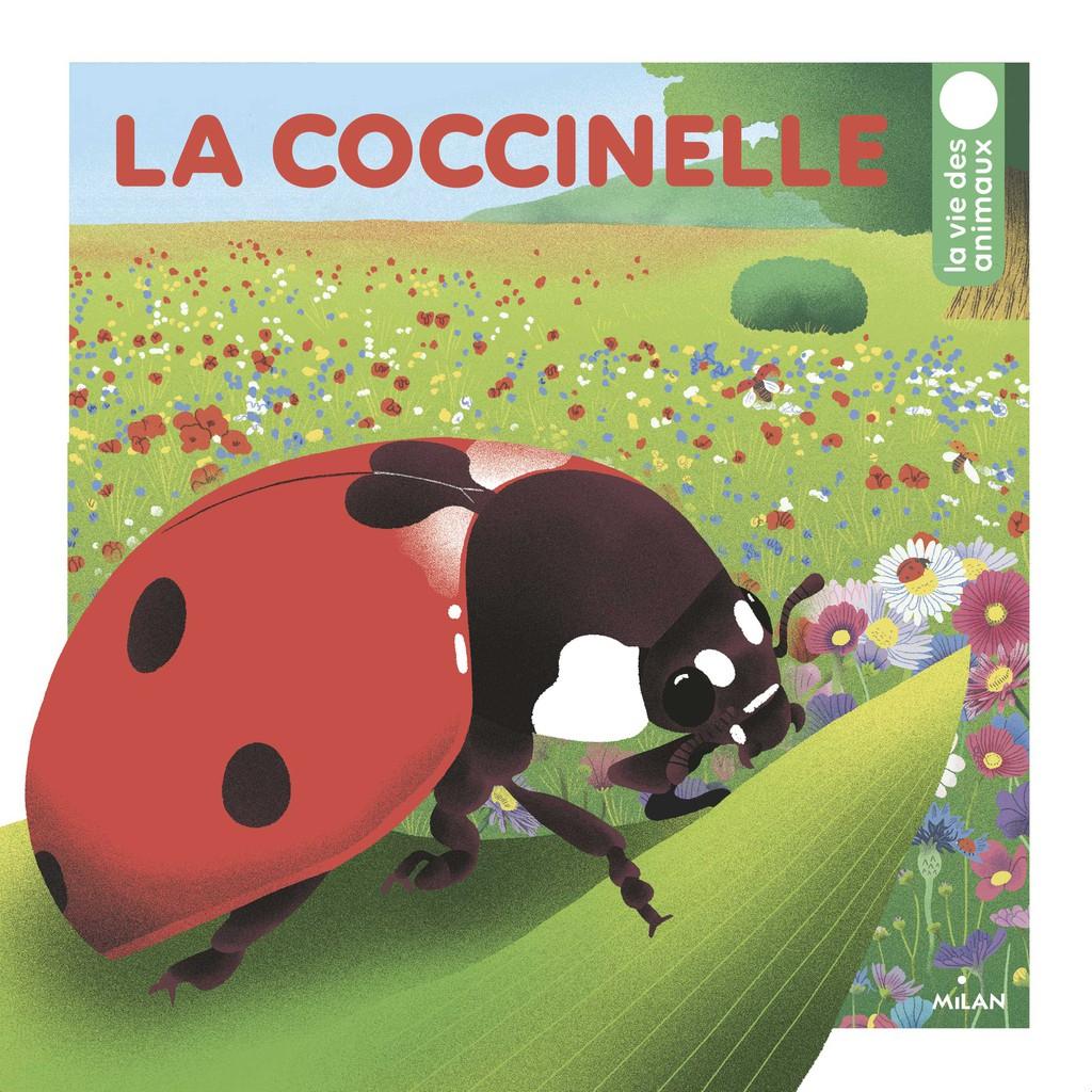 La Coccinelle - Editions Milan intérieur Coccinelle A Coller