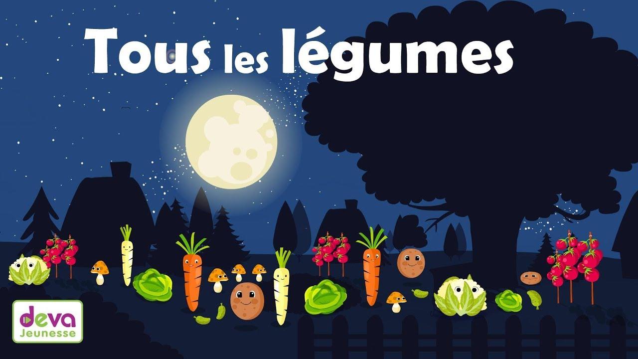 La Danse Des Légumes (Comptine Avec Paroles Pour Apprendre Aux Enfants )  Ⓓⓔⓥⓐ Education destiné Chanson Sur Les Fruits Et Légumes
