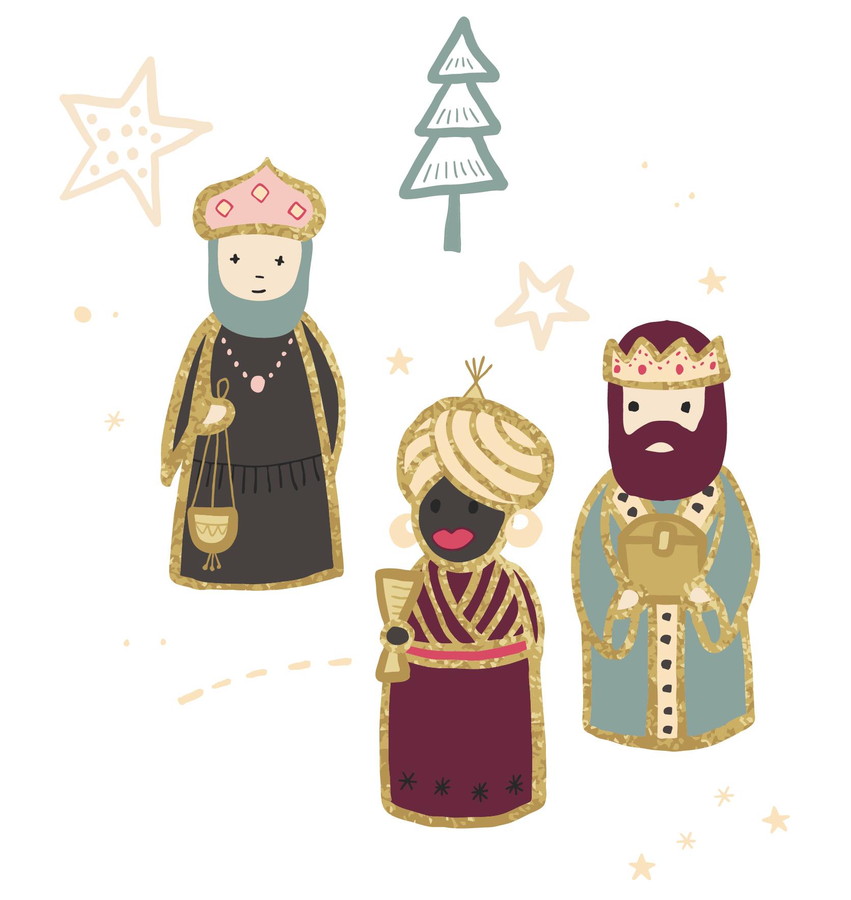La Jolie Tradition Des Reyes Magos En Espagne – Josepha En à 3 Roi Mage