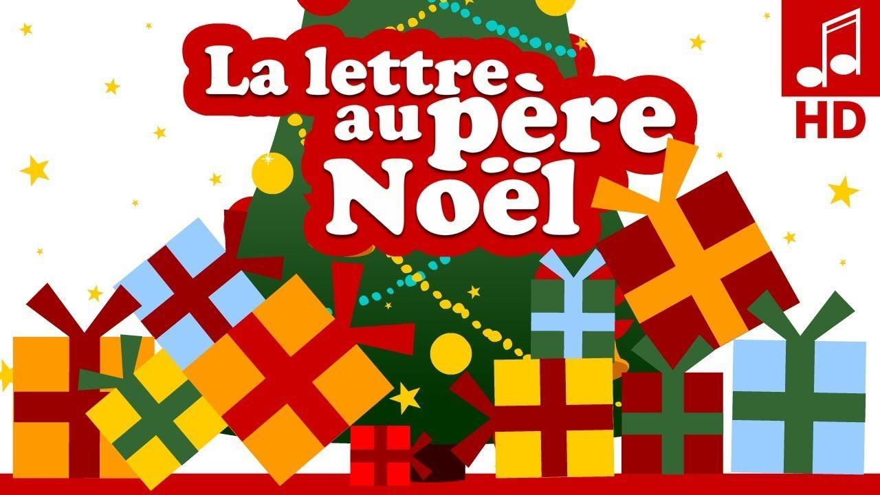La Lettre Au Pere Noel Chanson De Noël En Français encequiconcerne Chanson Dans Son Manteau Rouge Et Blanc
