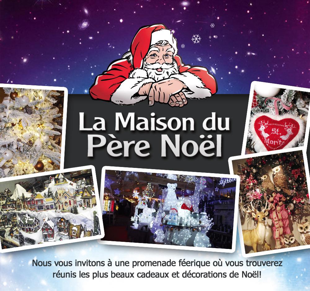 La Maison Du Père Noël avec Musique Du Père Noël