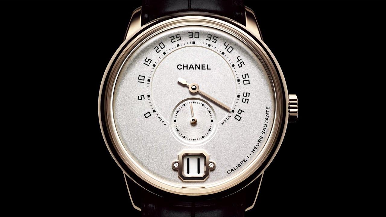 La Montre Monsieur De Chanel destiné Monsieur Le Montre