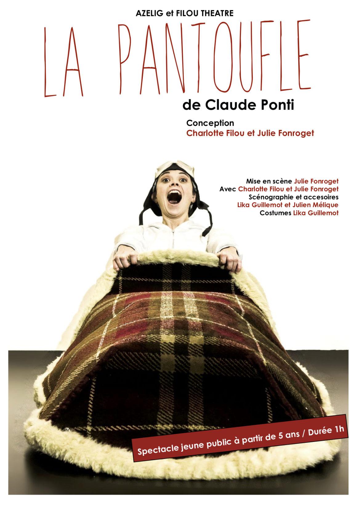 La Pantoufle, De Claude Ponti - Theatre-Enfants tout La Tempête Claude Ponti
