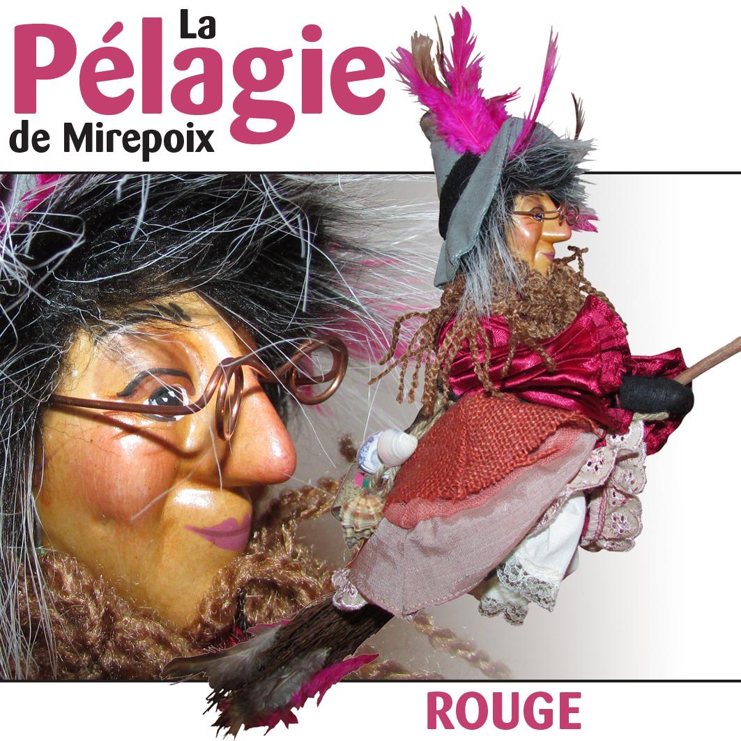 """La Pélagie De Mirepoix """"rouge"""" encequiconcerne Pelagie La Sorciere"""