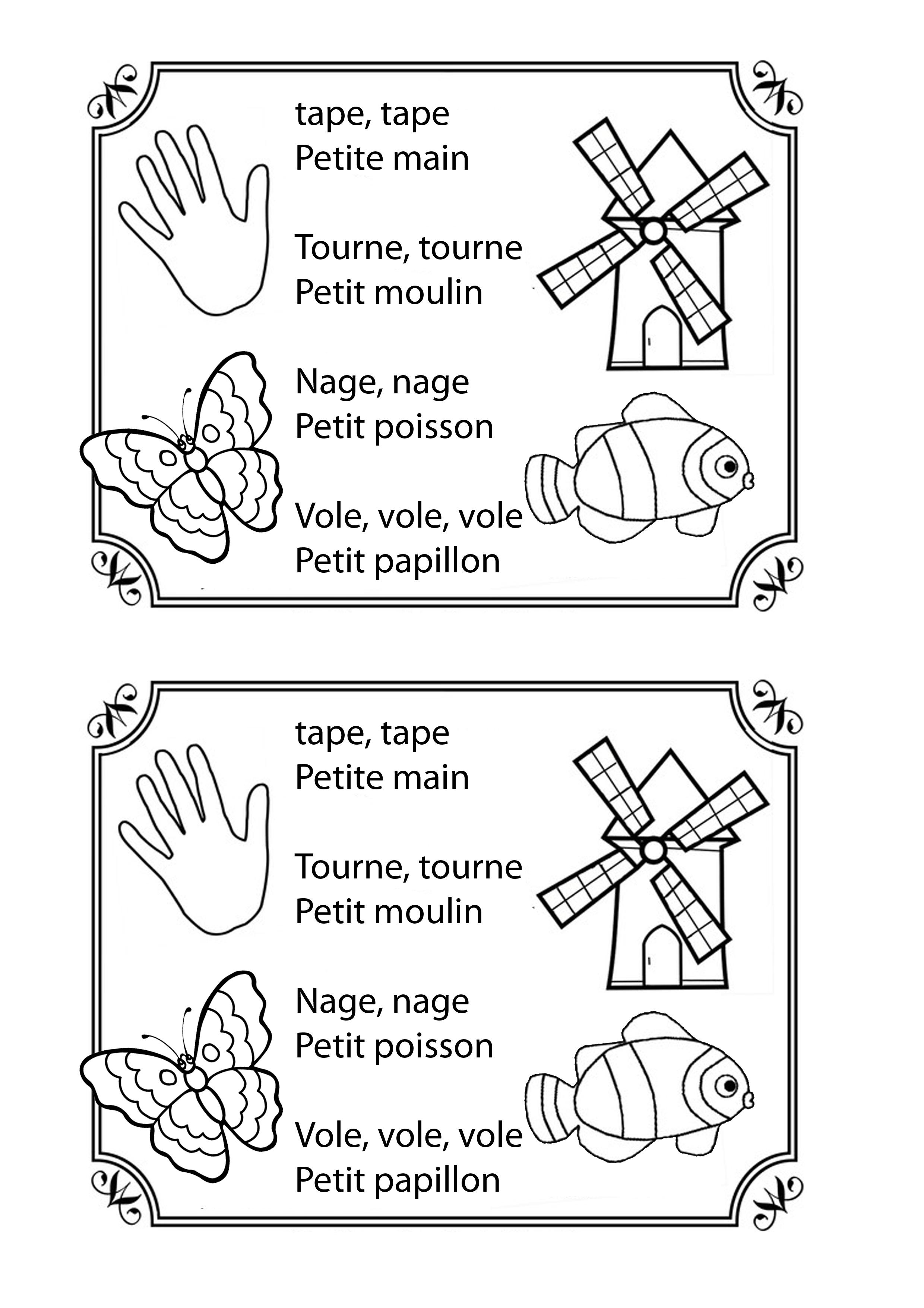 La Présentation – La Ptite Ecole Du Fle tout Petit Moulin Chanson