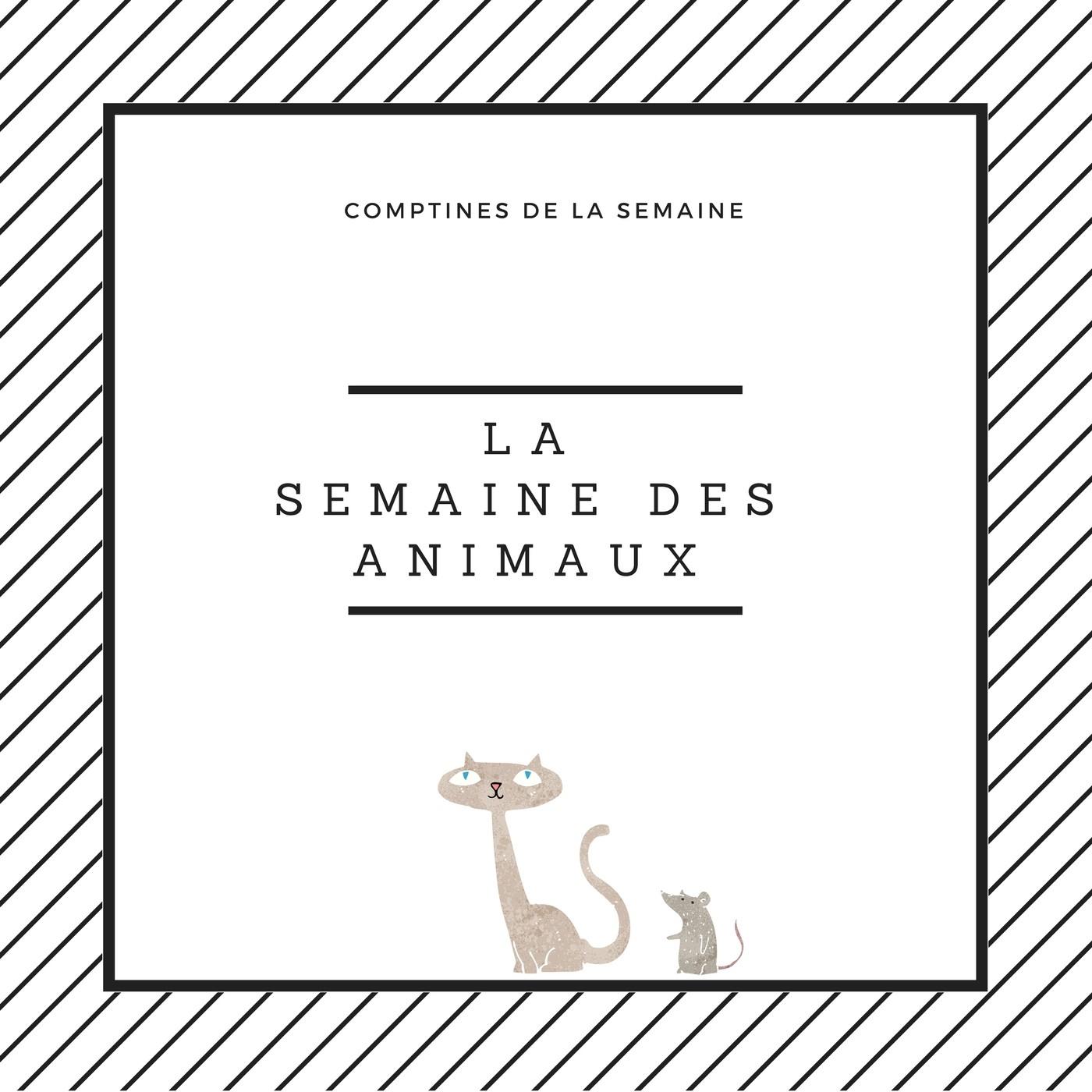 La Semaine Des Animaux - Comptines Sur Les Jours De La Semaine dedans Comptine Bonjour Madame Lundi