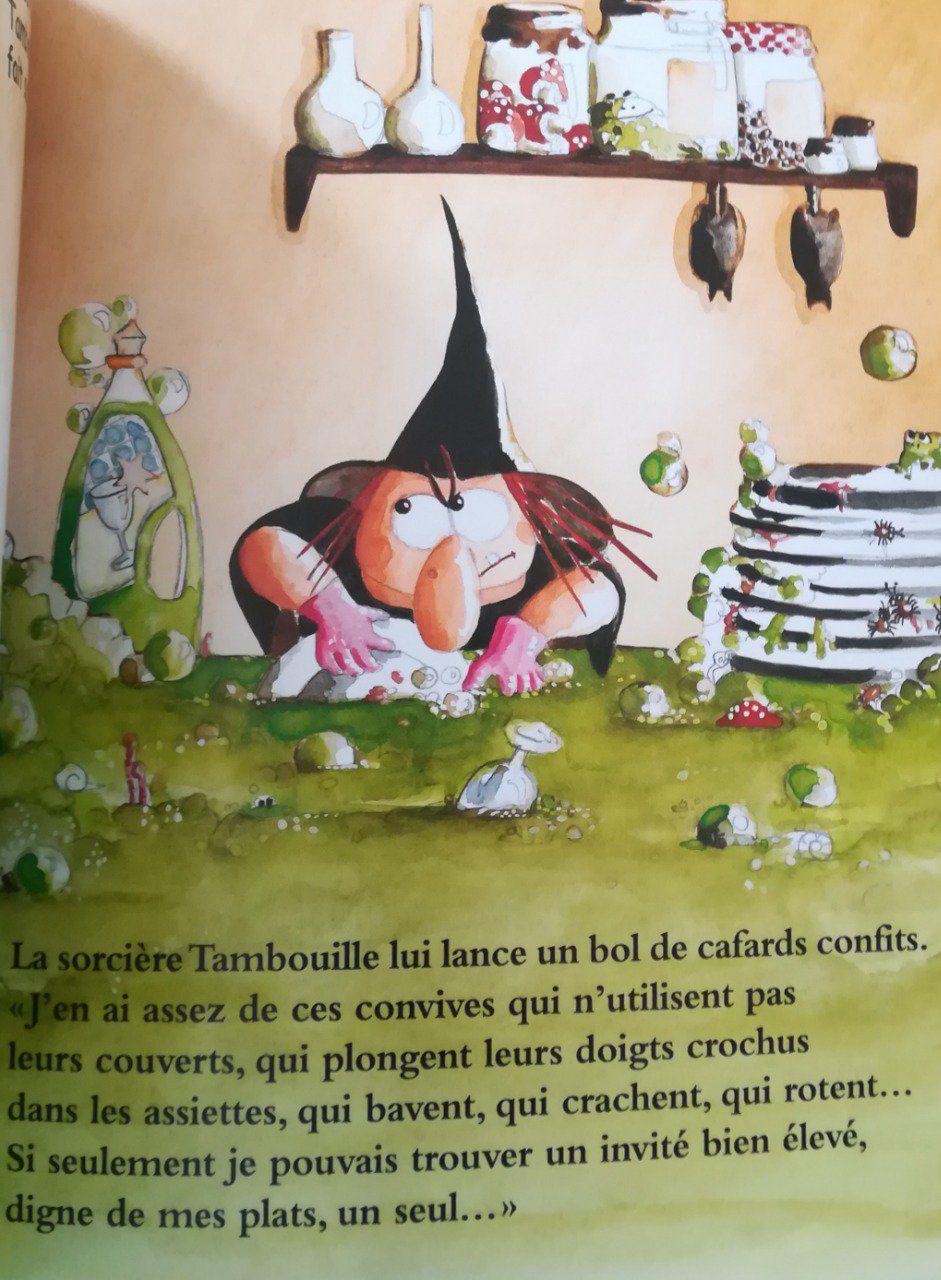 La Sorcière Tambouille avec La Sorciere Tambouille