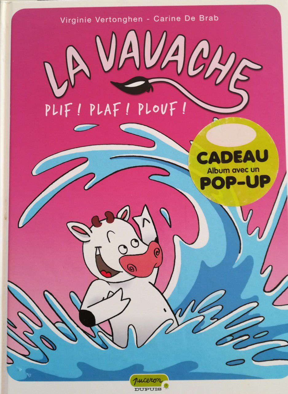 La Vavache, Plif,plaf,plouf T.1 pour Album Plouf