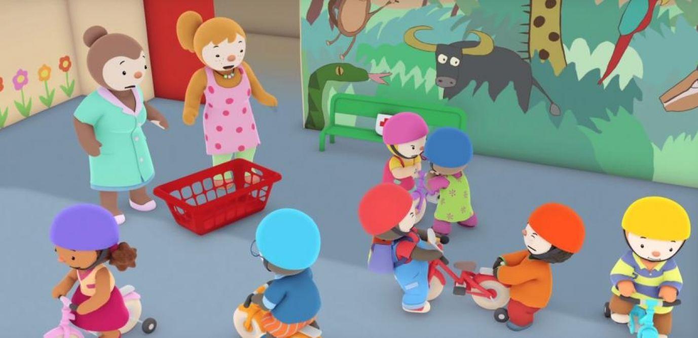 La Vidéo Du Vélo Rouge De T'choupi, Fantasme De Parents avec Episode Tchoupi