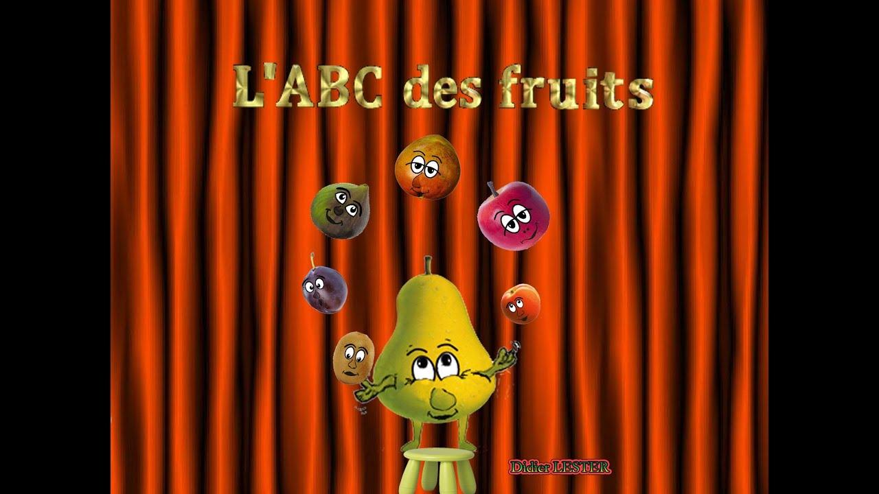L'abc Des Fruits - Apprendre L'alphabet - Learn French - Chanson Pour  Enfants avec Chanson Sur Les Fruits Et Légumes