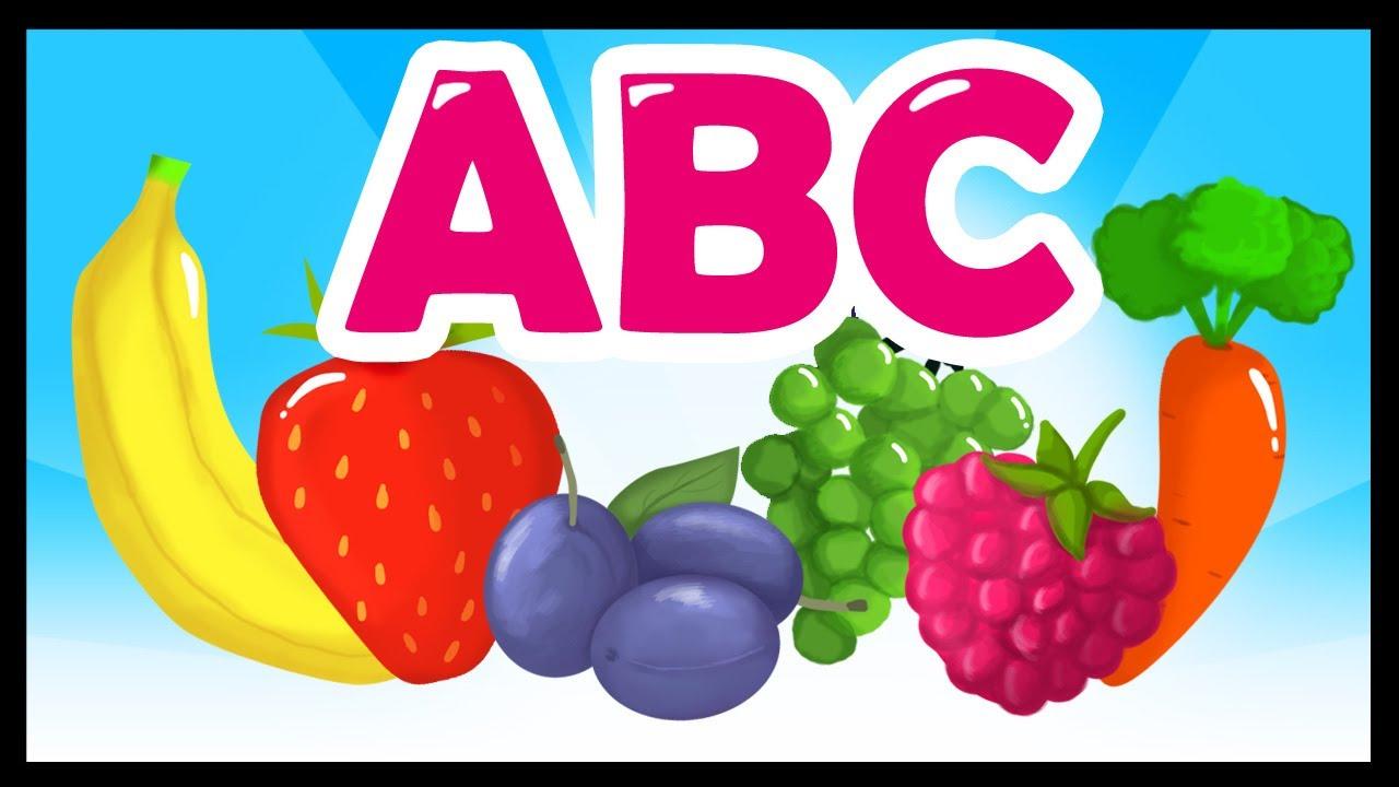 L'abc Des Fruits Et Des Légumes - Apprendre L'alphabet En Français -  Titounis dedans Chanson Sur Les Fruits Et Légumes