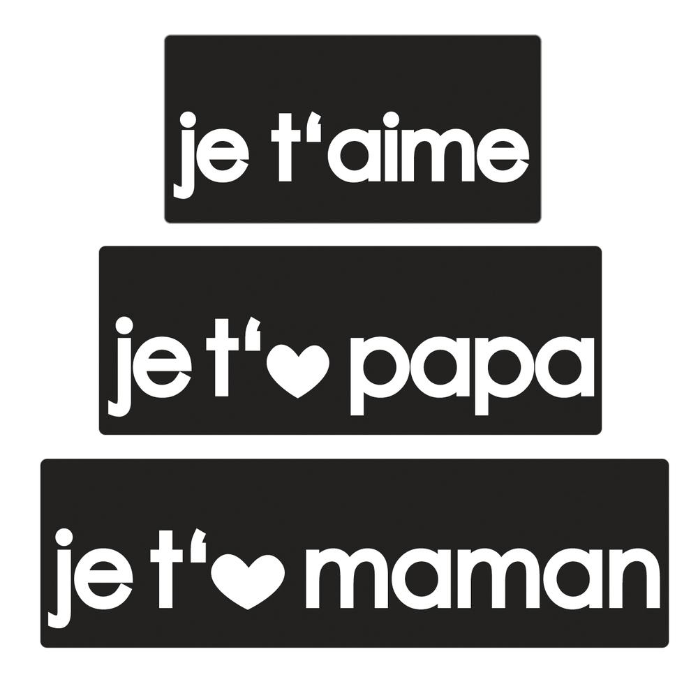 Labels Je T'aime+Je..papa+Je..maman dedans Texte Maman Je T Aime