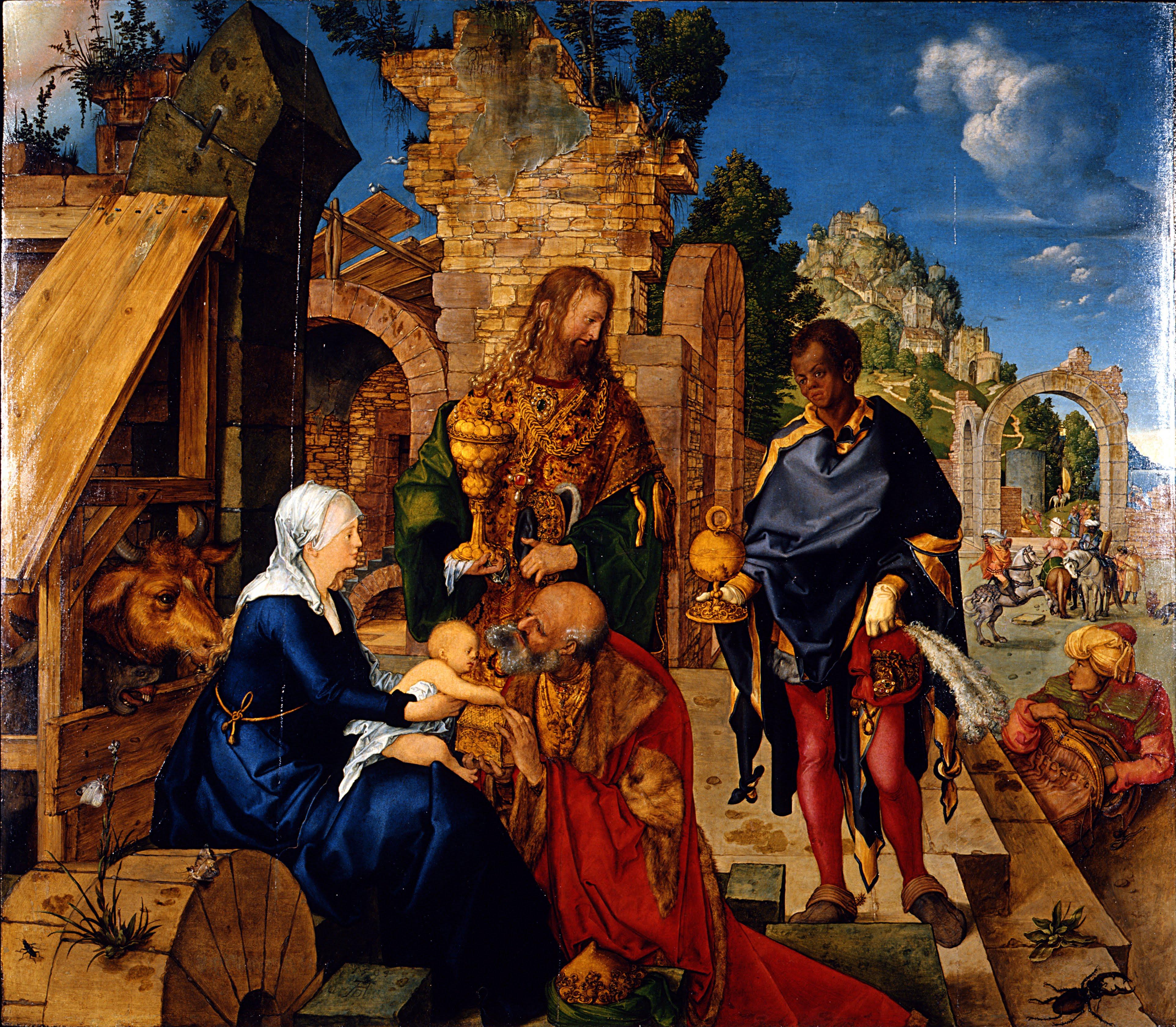 L'adoration Des Mages (Dürer) — Wikipédia concernant 3 Roi Mage