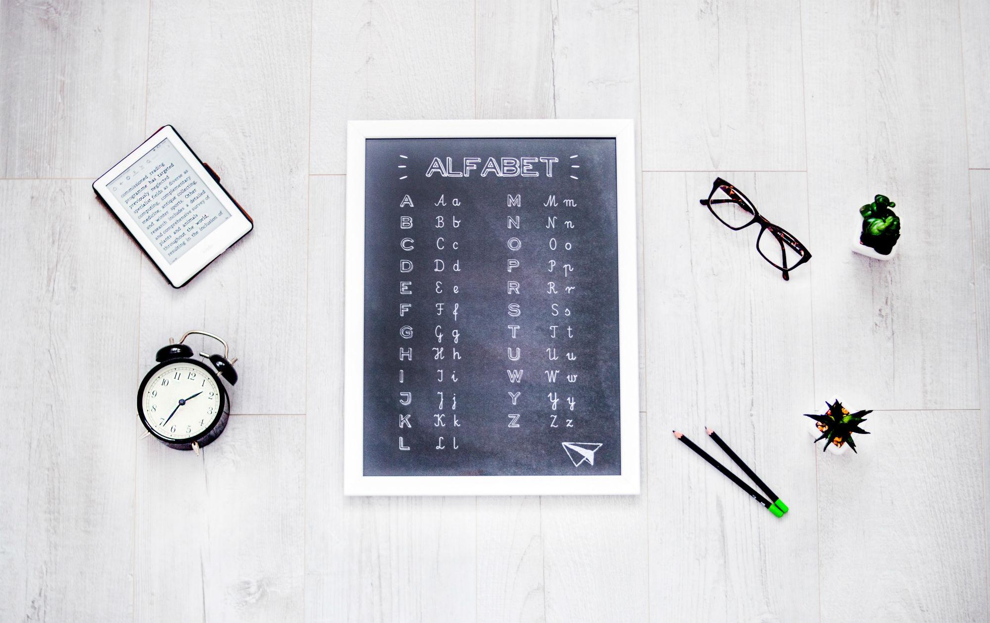 L'alphabet En Anglais : Lettres, Prononciation Et Astuces concernant Chanson Des Chiffres En Français