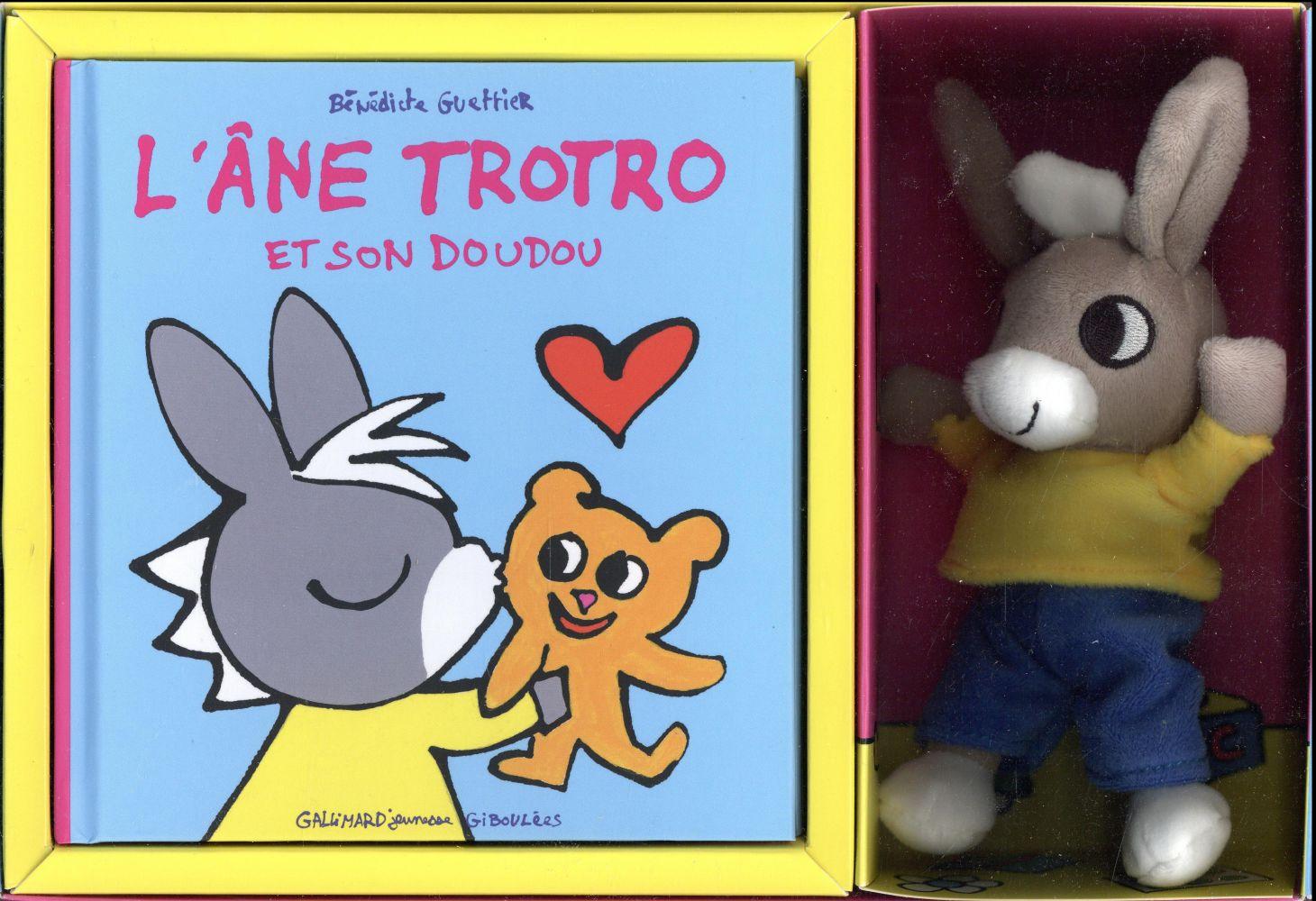 L'ane Trotro Et Son Doudou - Coffret, Gallimard Jeunesse - La Maison De  Zazou destiné Doudou Ane Trotro