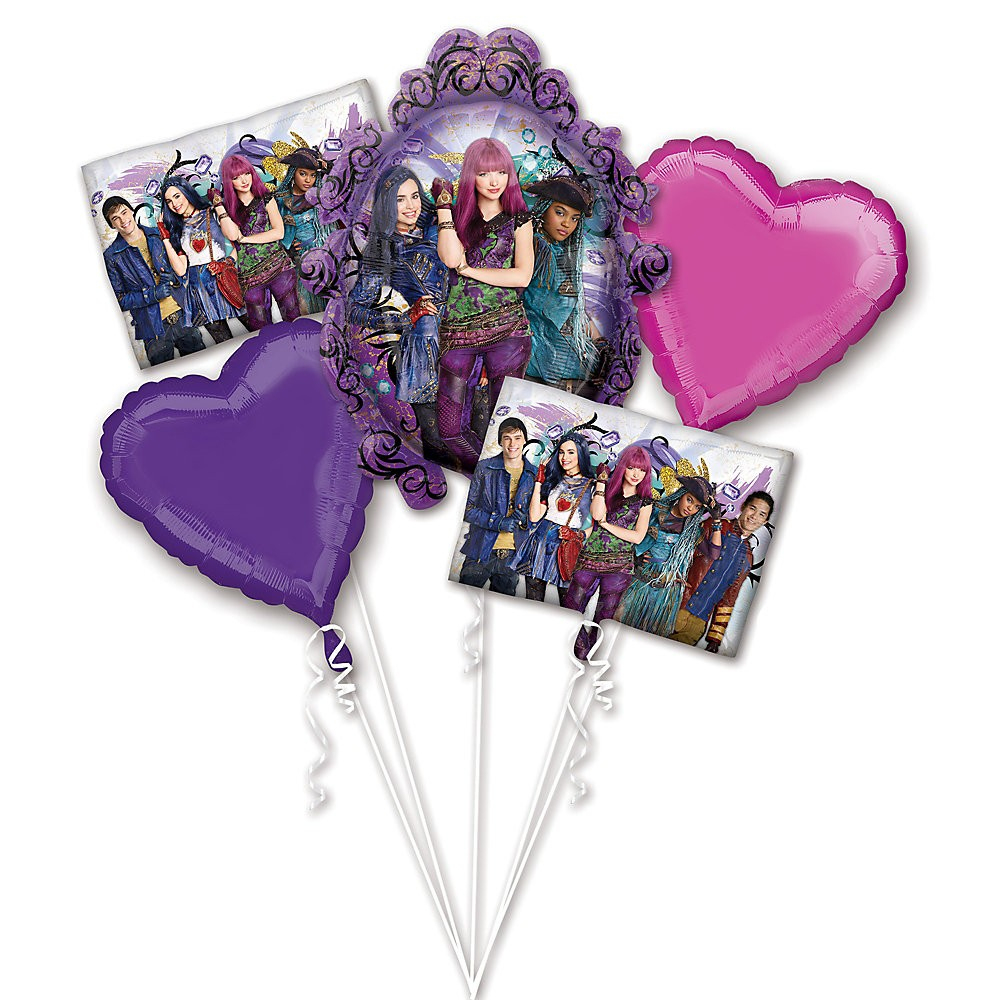 Large Choix Descendants , Personnages Bouquet De Ballons Disney Descendants  2 ★ ★ intérieur Descendants Personnages