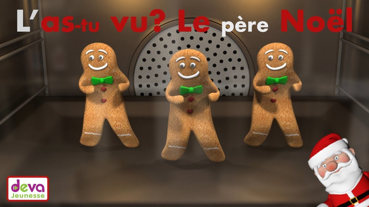 L'as Tu Vu Ce Petit Bonhomme (Paroles) ⒹⒺⓋⒶ Chanson De Noël concernant L As Tu Vu Paroles