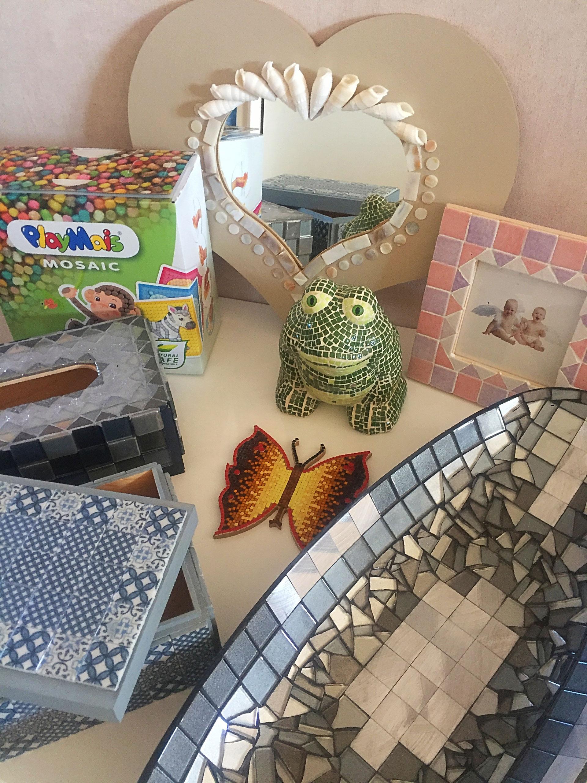 L'atelier Mosaïque - Les Fées Mains Lyon concernant Support Pour Mosaique