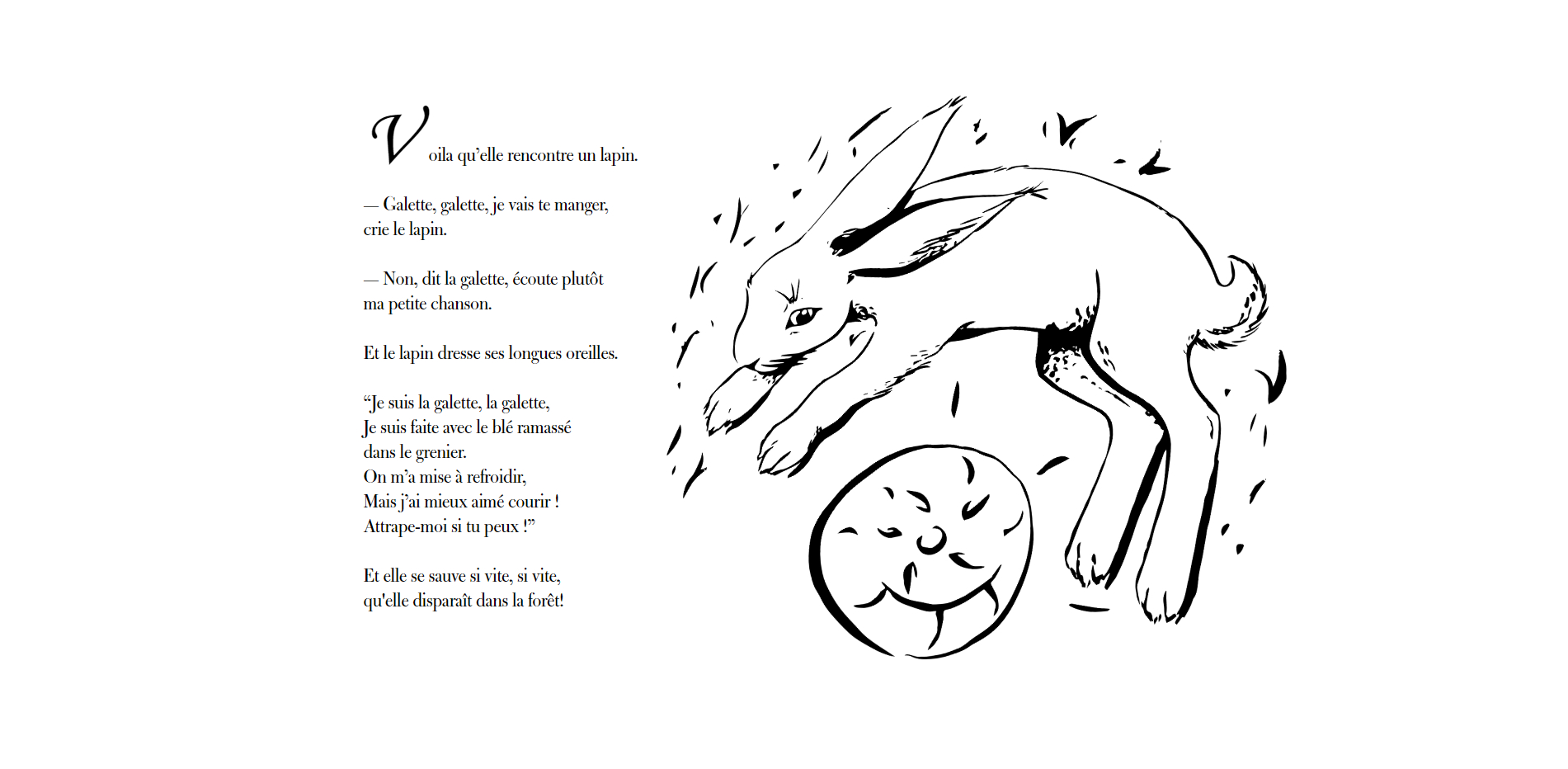 Laura Garzaro · Designer Graphique dedans Histoire Roule Galette