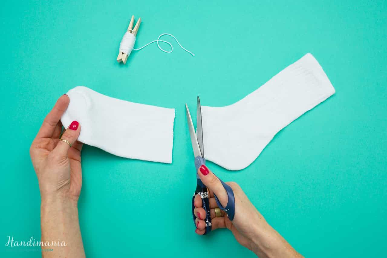 Le Bonhomme De Neige « Chaussette » - Pediakid à Origami Bonhomme De Neige