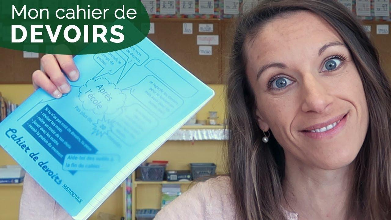 Le Cahier De Devoirs De Mes Élèves De Ce1-Ce2 [Vlog 22] tout Lutin Bazar Poésie