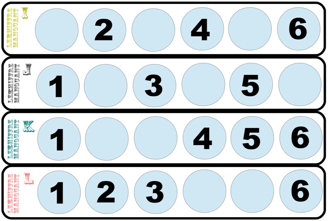 Le Chiffre Manquant Et Sudoku Pour Les Moyens - Blog De La à Sudoku Grande Section