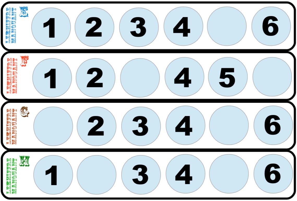 Le Chiffre Manquant Et Sudoku Pour Les Moyens - Blog De La destiné Sudoku Grande Section