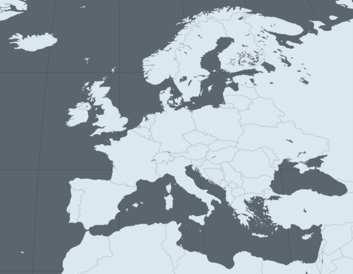 Le Continent Européen, Ses Divisions Et Ses Limites - Profs concernant Union Européenne Carte Vierge