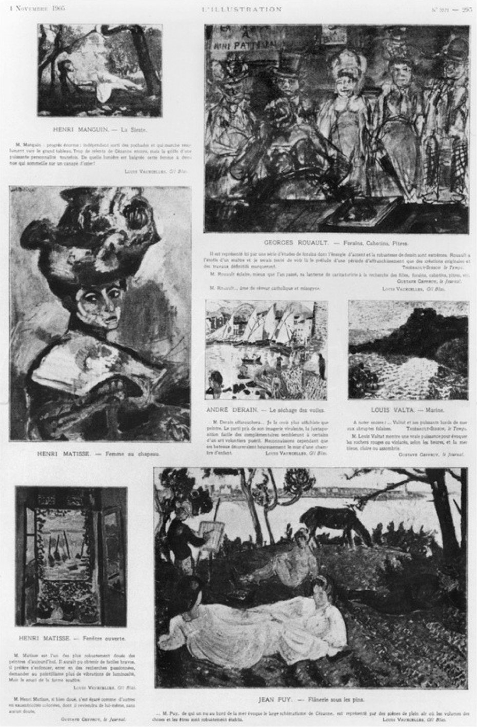 Le Fauvisme | Histoire De L'art pour Caractéristiques De L Automne