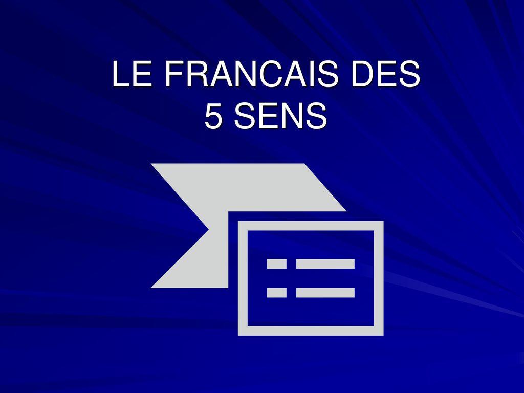 Le Francais Des 5 Sens. - Ppt Télécharger encequiconcerne Fiche Pédagogique Les 5 Sens