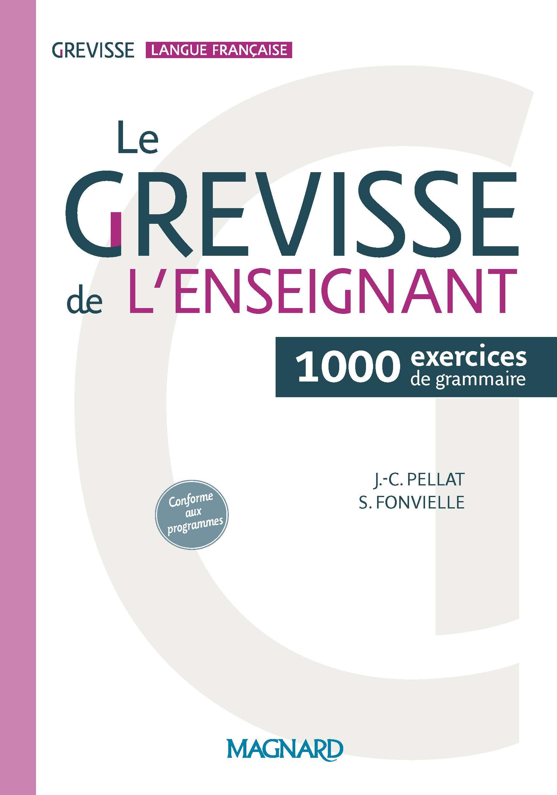 Le Grevisse De L'enseignant - 1000 Exercices De Grammaire à Exercice Cm2 Gratuit