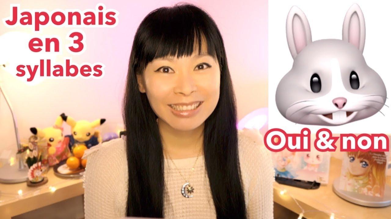 Le Japonais En 3 Syllabes #1 | Comment Dire Oui, Non, De Rien | Mini-Cours  Facile #24 encequiconcerne Bonjour Japonnais