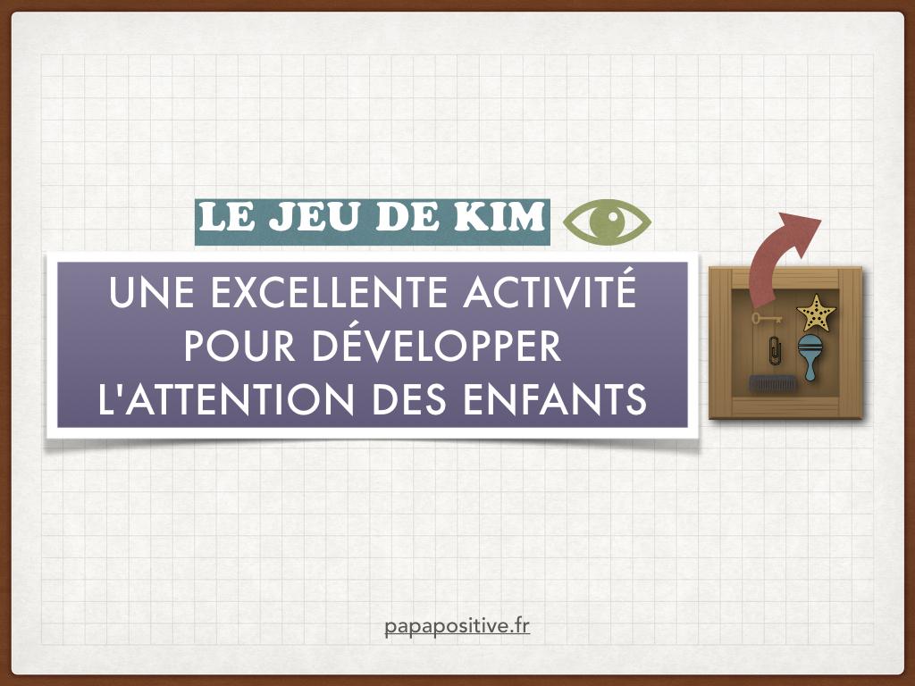 Le Jeu De Kim : Une Excellente Activité Pour Développer L intérieur Jeux De Concentration À Imprimer