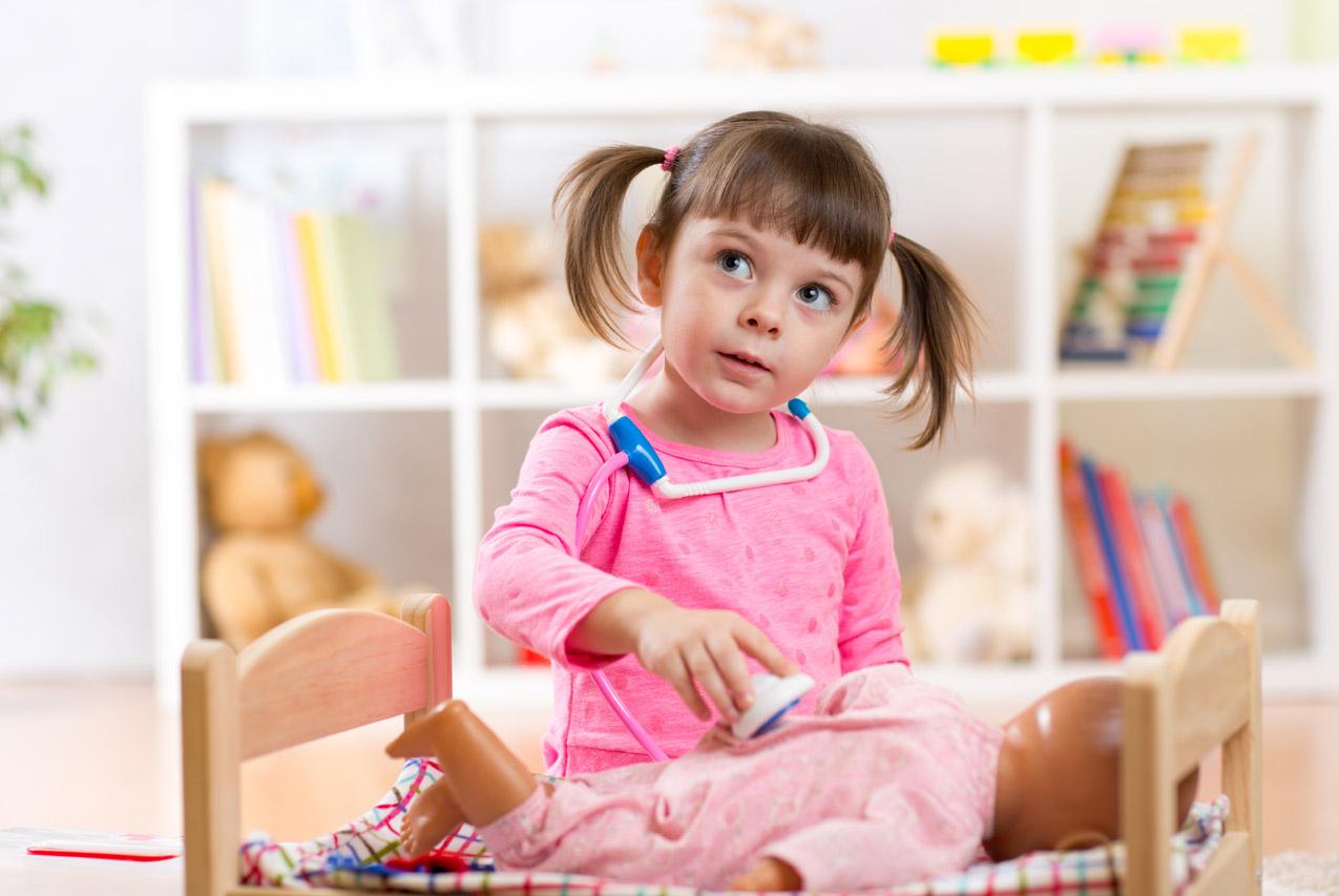 Le Jeu D'imitation, Déterminant Dans Le Développement De L dedans Jeux Petite Fille Gratuit