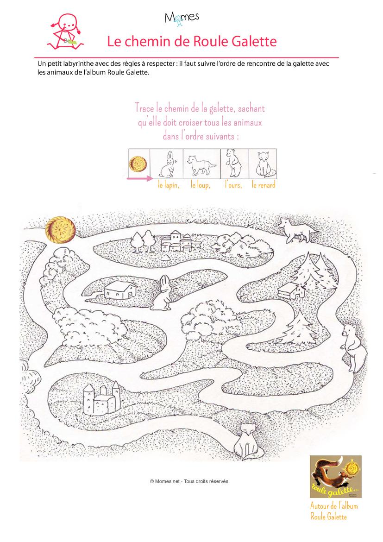 Le Labyrinthe De La Galette - Momes tout Histoire Roule Galette