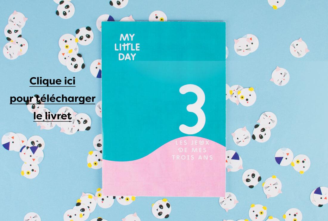 Le Livret De Jeux Des 3 Ans - Les Conseils - My Little Day destiné Jeux Gratuits Pour Enfants De 3 Ans