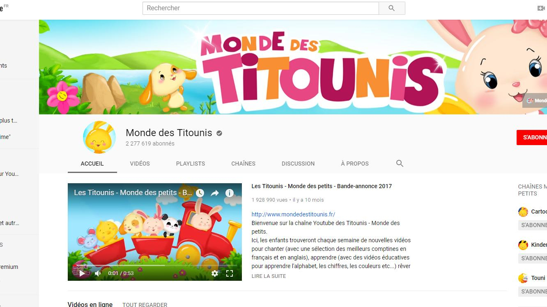 Le Monde Des Titounis, Une Mystérieuse Chaîne  Pour serapportantà Chanson Des Chiffres En Français