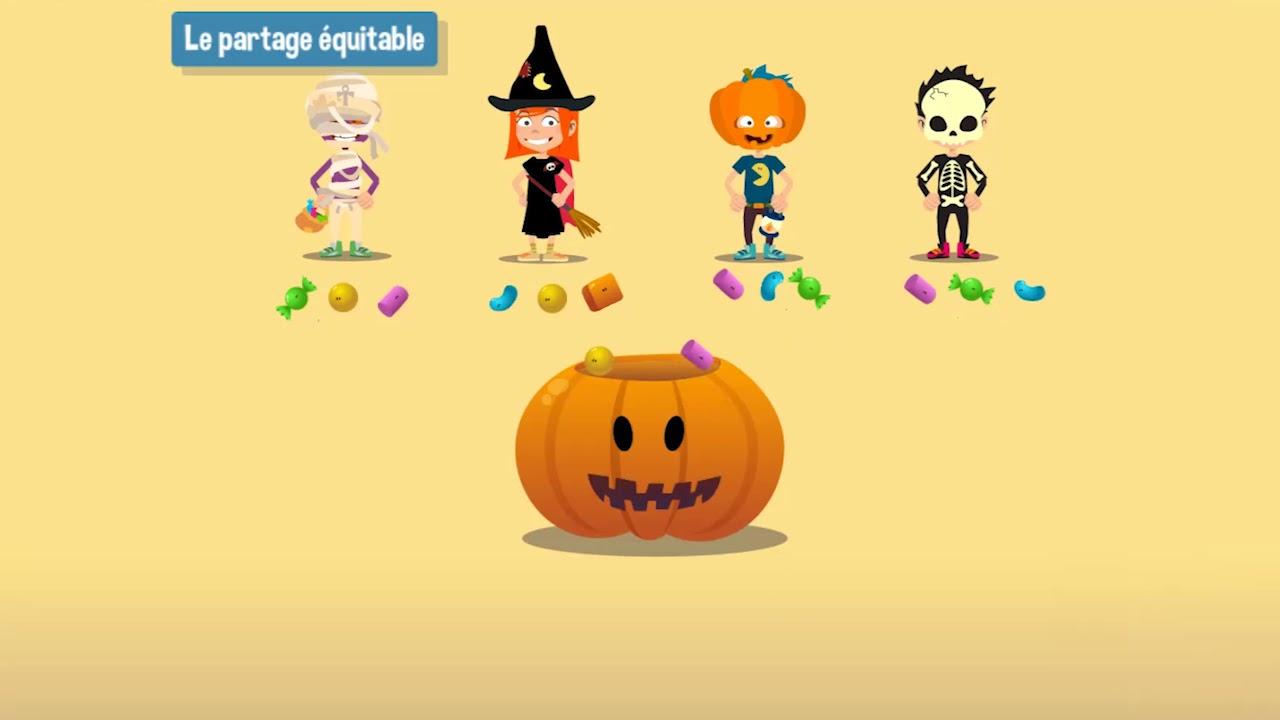 Le Partage Équitable - Ce2 concernant Halloween Ce2