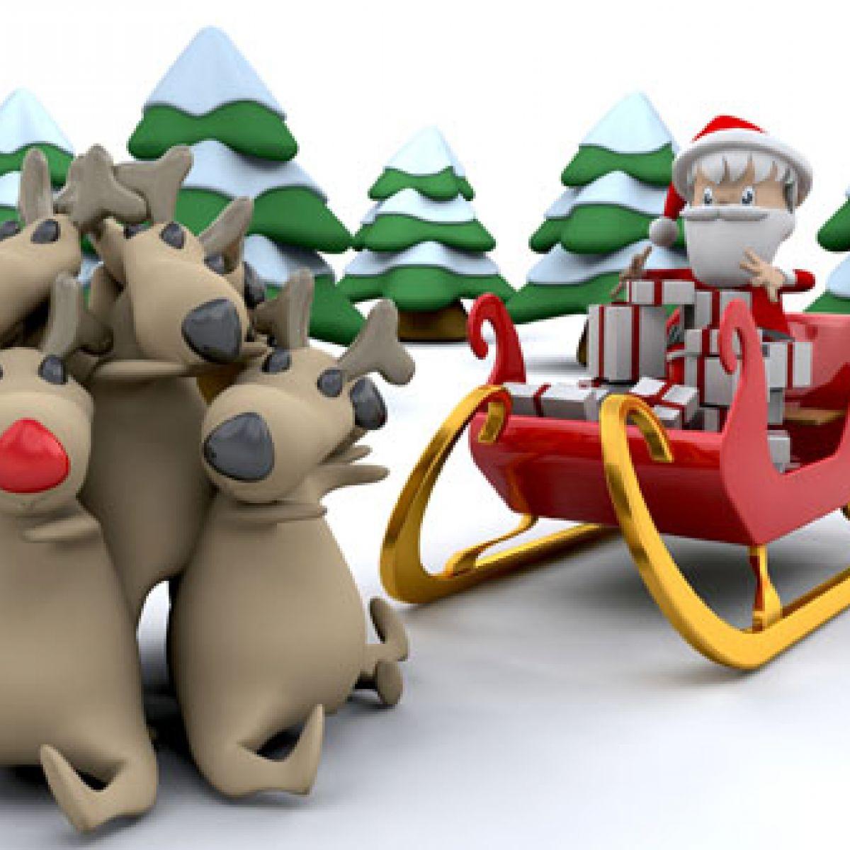 Le Père Noël À L'épreuve De La Physique - Simplyscience destiné Image Du Pere Noel Et Son Traineau