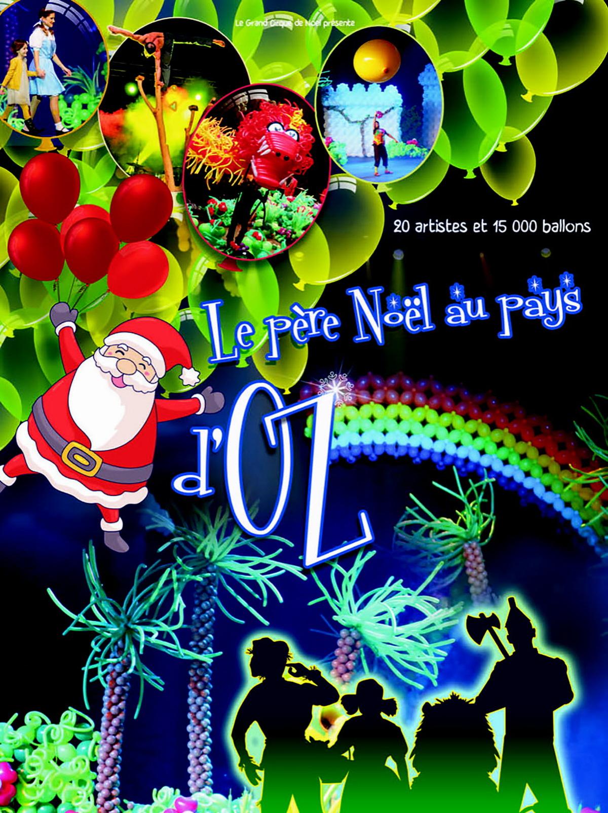 Le Pere Noel Au Pays D Oz» : Spectacle A Metz pour Musique Du Père Noël