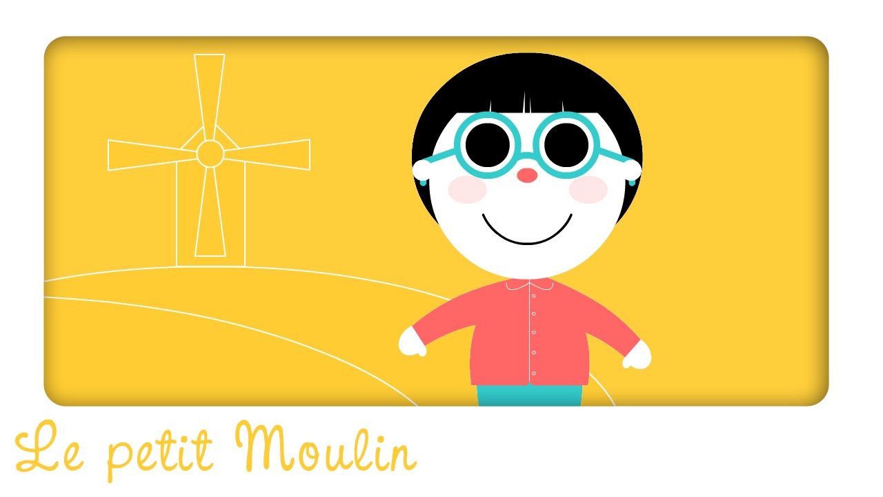 Le Petit Moulin | ♫ Comptines Et Chansons Classiques & Comptines  Maternelles Pour Bébé destiné Petit Moulin Chanson