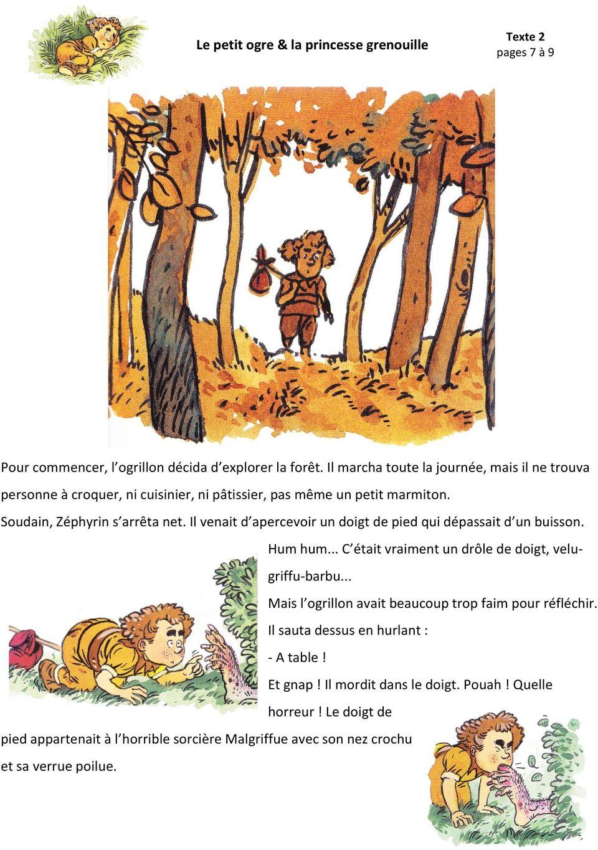 Le Petit Ogre & La Princesse Grenouille Paul Thiès Christian avec Le Petit Ogre Qui Voulait Apprendre À Lire